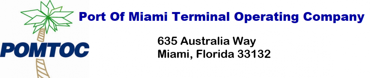 Port of Miami Terminal Operating Company – POMTOC